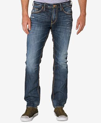 Silver Jeans Co. Men's Konrad Slim-Fit Jeans - Jeans - Men - Macy's