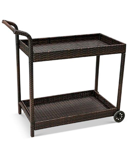 Furniture Talen Bar Cart, Quick Ship