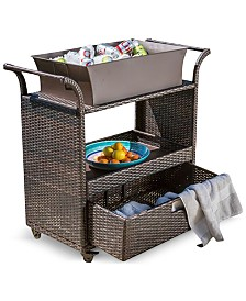 Aldin Bar Cart, Quick Ship
