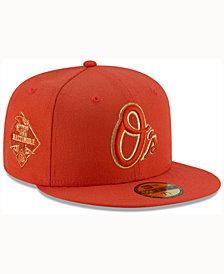 New Era Baltimore Orioles Team On Metallic 59FIFTY Cap