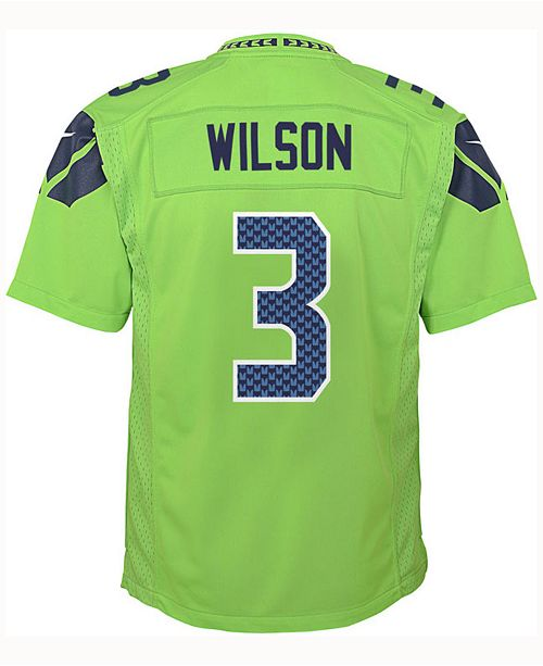 a79c1b75681de ... Nike Russell Wilson Seattle Seahawks Color Rush Jersey, Big Boys (8-20)  ...