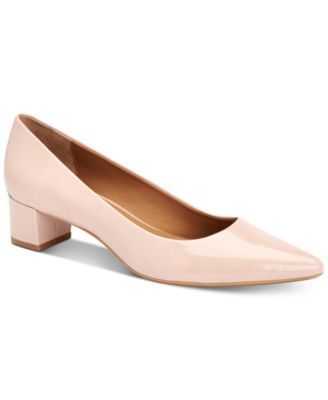 Image of Calvin Klein Women's Genoveva Block-Heel Pumps