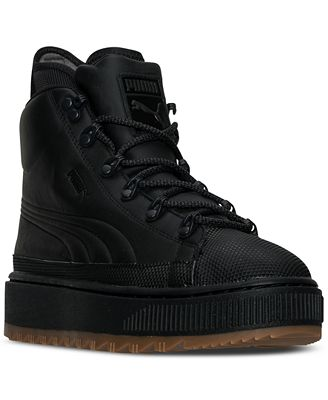 Puma Men's The Ren High-Top Boots from Finish Line