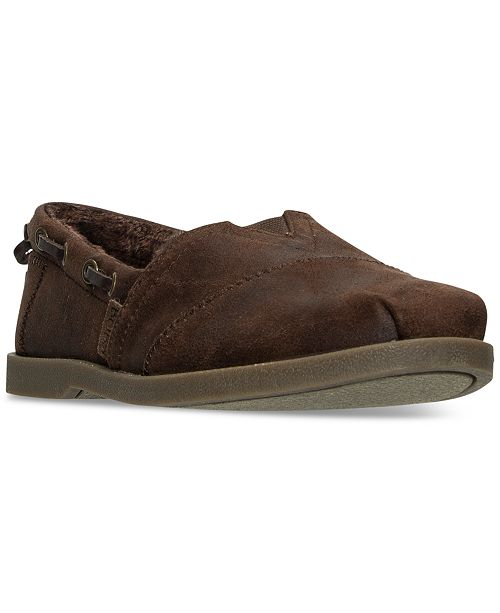 0b132e262b3 ... Skechers Women s Bobs Chill Luxe - Buttoned Up Casual Slip-On Flats  from Finish ...