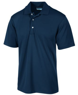 Image of PGA TOUR Men's Airflux Solid Golf Polo Shirt