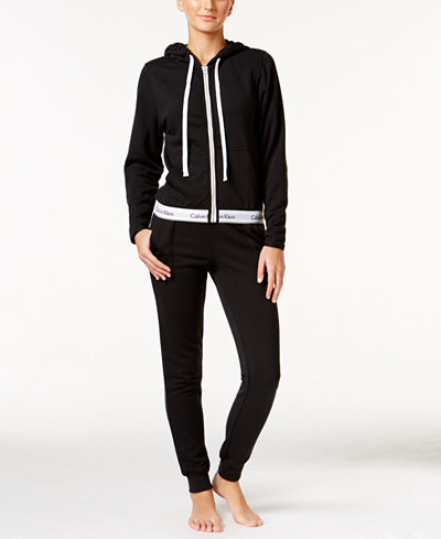Calvin Klein Modern Cotton Hoodie & Jogger Pants