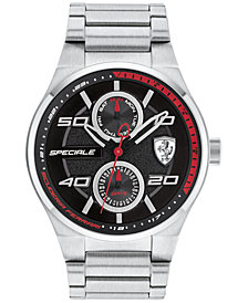 Ferrari Men's Speciale Stainless Steel Bracelet Watch 44mm 0830358