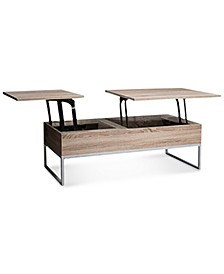 Garan Lift-top Wood Storage Coffee Table