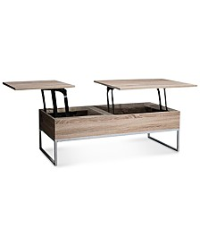 Garan Lift-top Wood Storage Coffee Table, Quick Ship