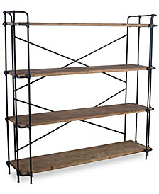 Beckert Indoor/Outdoor 4-Shelf Bookcase, Quick Ship