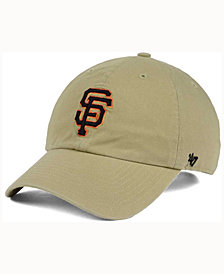 '47 Brand San Francisco Giants Khaki Clean UP Cap