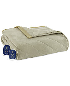 Shavel Micro Flannel® 7 Layers of Warmth Twin Heated Blanket