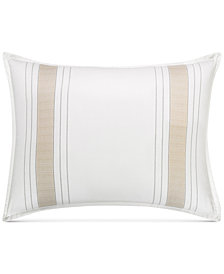 CLOSEOUT! Hotel Collection  Woven Accent King Sham, Created for Macy's