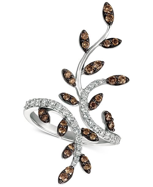 leaf for cute vine gold product feather nature women olive rings ladies maple simple ring plant tree silver best