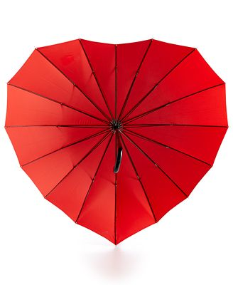 Celebrate Shop Heart Umbrella, Created for Macy's