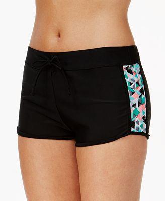 GO By Gossip Prismatic Drawstring Swim Shorts
