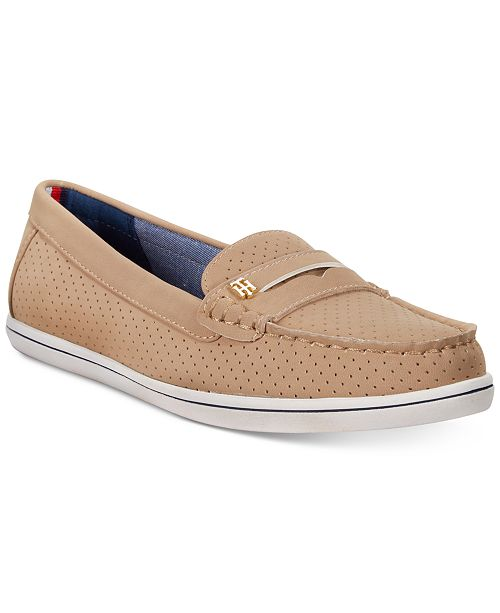 b6b7a343430 Tommy Hilfiger Women s Butter Penny Loafers   Reviews - Flats ...
