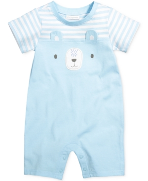 First Impressions Bear Romper Baby Boys (024 months) Created for Macys