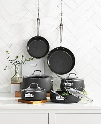Hard-Anodized 10-Piece Cookware Set