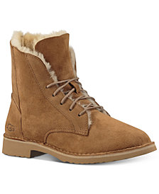 UGG® Quincy Lace-Up Boots
