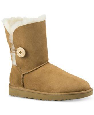 ugg women s bailey button ii boots boots shoes macy s rh macys com
