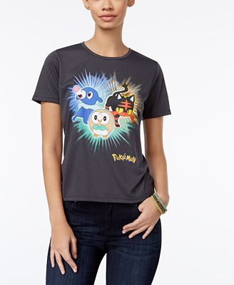 Mighty Fine Juniors' Pokemon Graphic T-Shirt