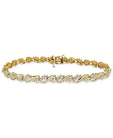 Diamond Tennis Bracelet (2 ct. t.w.) in 10k Gold