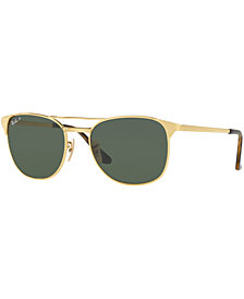Ray-Ban Polarized Signet Sunglasses, RB3429M 55