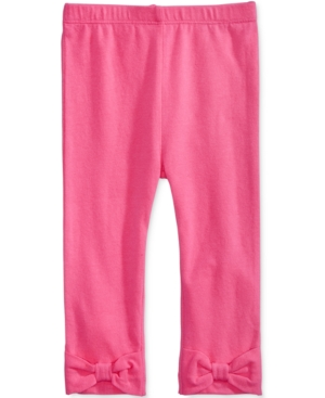 First Impressions Baby Girls Solid Bow Leggings Created for Macys