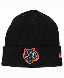 New Era Cincinnati Bengals Heather Spec Knit Hat