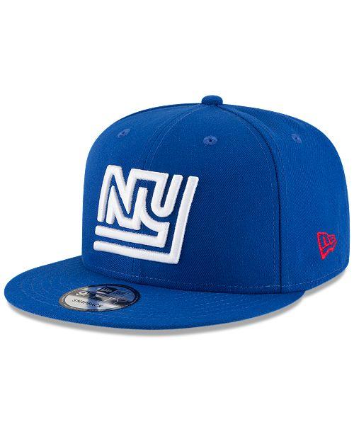 3ac9a4c85 ... New Era New York Giants Historic Vintage 9FIFTY Snapback Cap ...