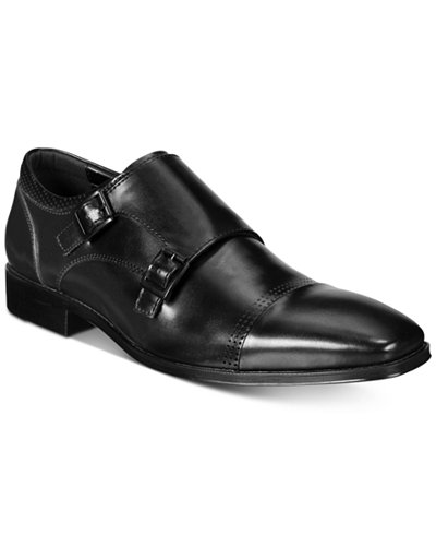 Unlisted by Kenneth Cole Men's South Side Monk Strap Loafers