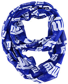 Forever Collectibles New York Giants All Over Logo Infinity Wrap Scarf