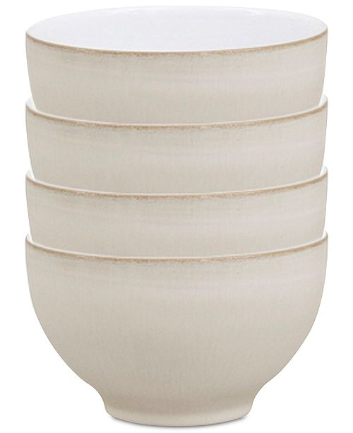 Denby Natural Canvas Stoneware Collection 4-Pc. Small Bowl Set