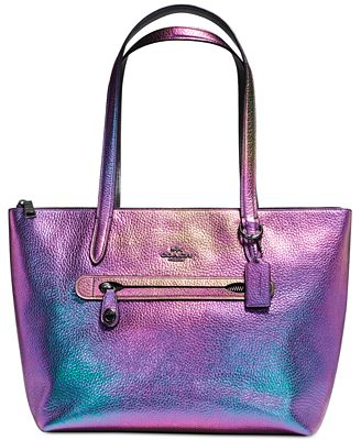 COACH Taylor Tote in Hologram Leather