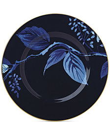 kate spade new york Birch Way Indigo Collection Accent Plate