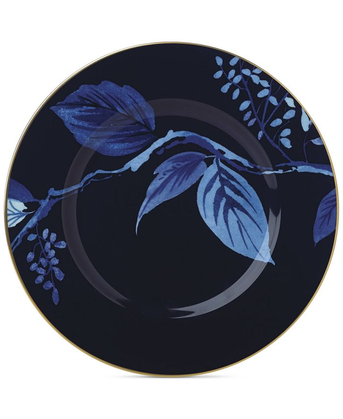 kate spade new york - Birch Way Navy Collection Accent Plate