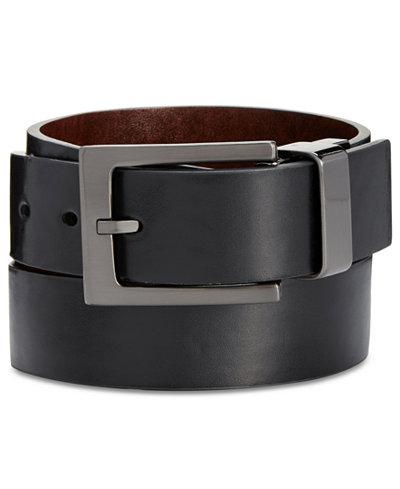 Alfani Reversible Casual Wide Buckle Belt