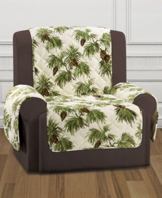 CLOSEOUT! Holiday Motifs Quilted Recliner Slipcover