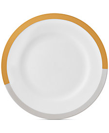Vera Wang Wedgwood Castillon Gold/Gray Collection Salad Plate