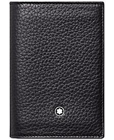 Men's Meisterstück Black Leather Business Card Holder 113310