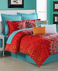 Cozumel Reversible 4-Piece Full Comforter Set