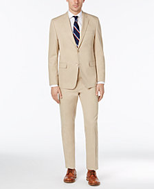 Lauren Ralph Lauren Men's Slim-Fit Tan Solid Suit