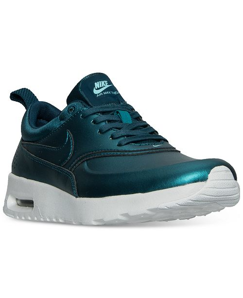 buy popular 464fb e9780 ... Nike Women s Air Max Thea SE Running Sneakers from Finish ...
