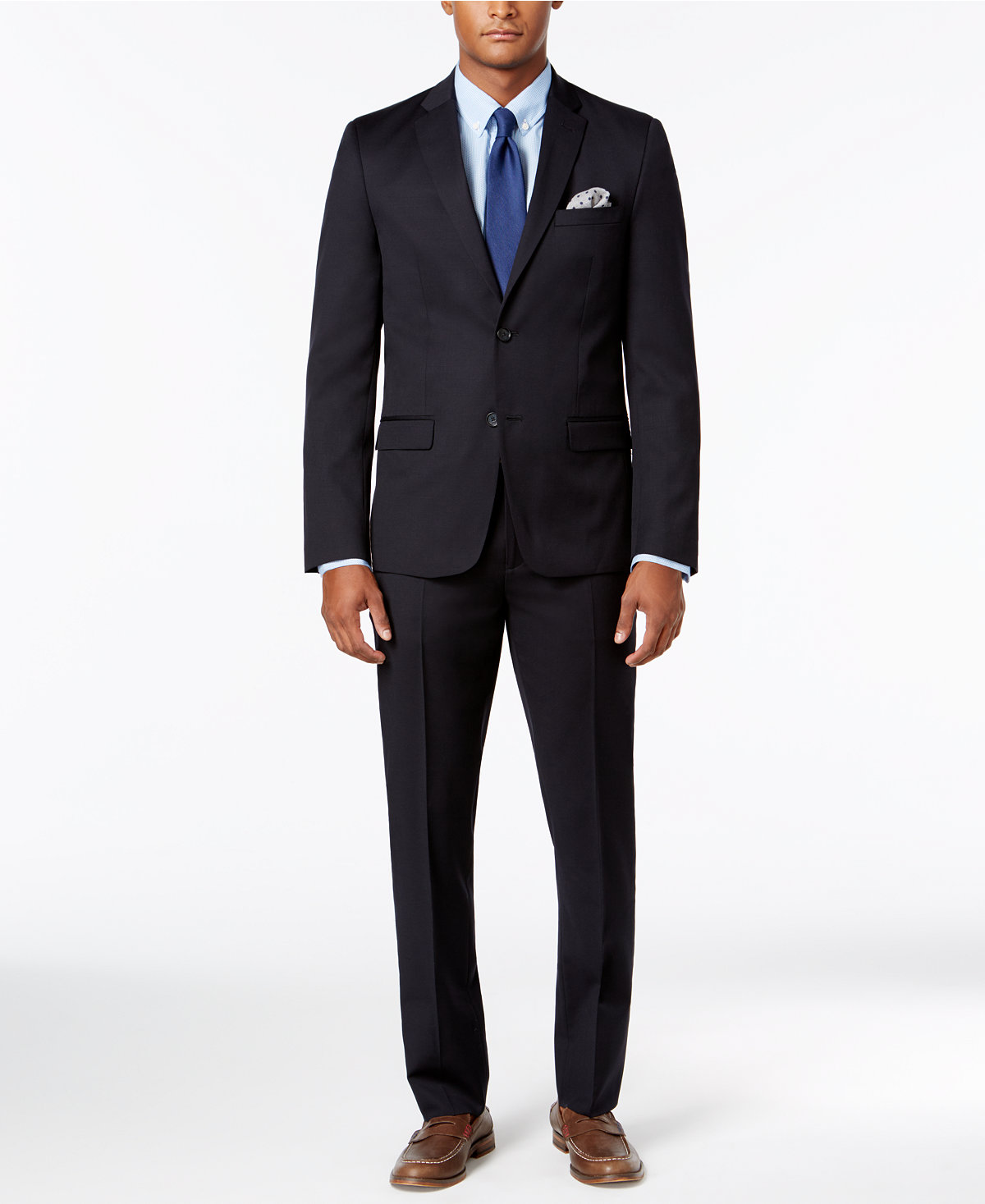 Tommy Hilfiger Mens Modern-Fit Stretch Suit