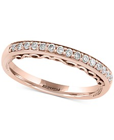 EFFY® Diamond Band (1/5 ct. t.w.) in 18k Rose Gold