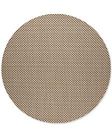 Chilewich Basketweave Woven Vinyl Round Placemat