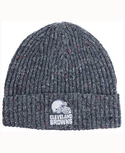'47 Brand Cleveland Browns NFL Back Bay Cuff Knit Hat