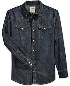 Levi's® Men's Standard Barstow Western Long-Sleeve Denim Shirt