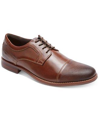 Rockport Men's Style Purpose Blucher Cap-Toe Oxfords